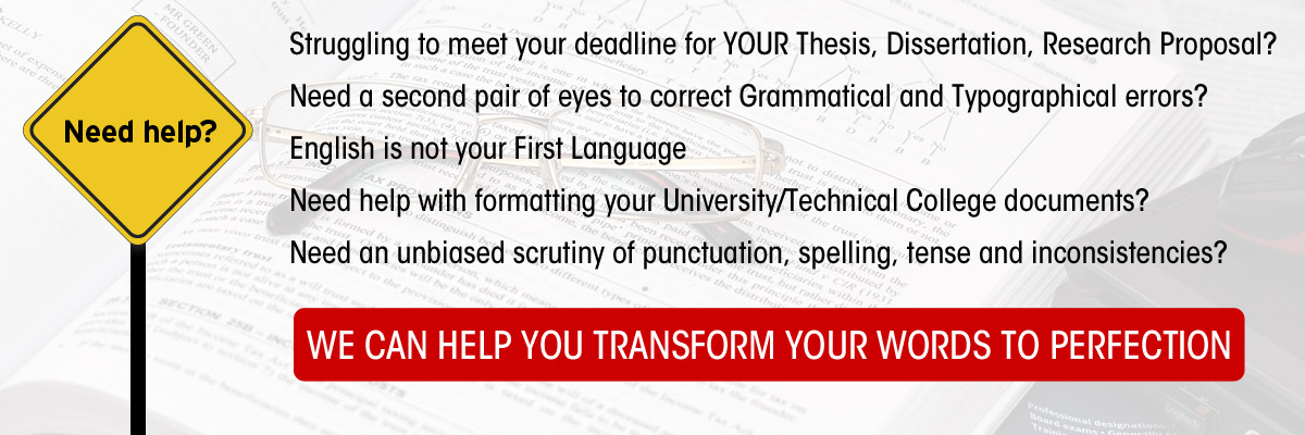 Professional Editors and Proofreaders in South Africa